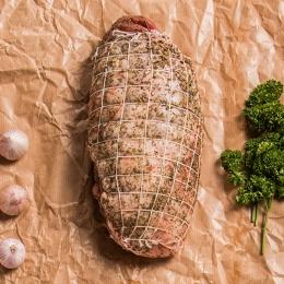 Lamm Schlögel Roller gewürzt ca 1,30 kg